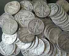 ESTATE LOT(7 pc)BETTER GRADE LOT US 90% Silver WALKING LIBERTY HALF DOLLARS #%25