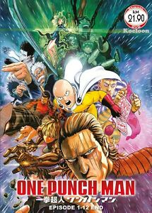 Details about DVD Anime One Punch Man Complete TV Series (1-12 End + OVA)  English Subtitle