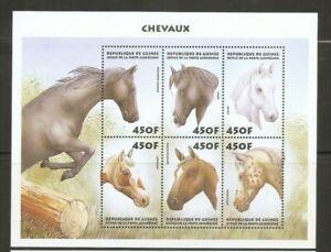 Guinea-SC-1513-Horses-MNH