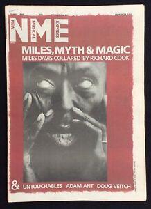 NME 13 July 1985 Miles Davis Adam Ant Doug Veitch