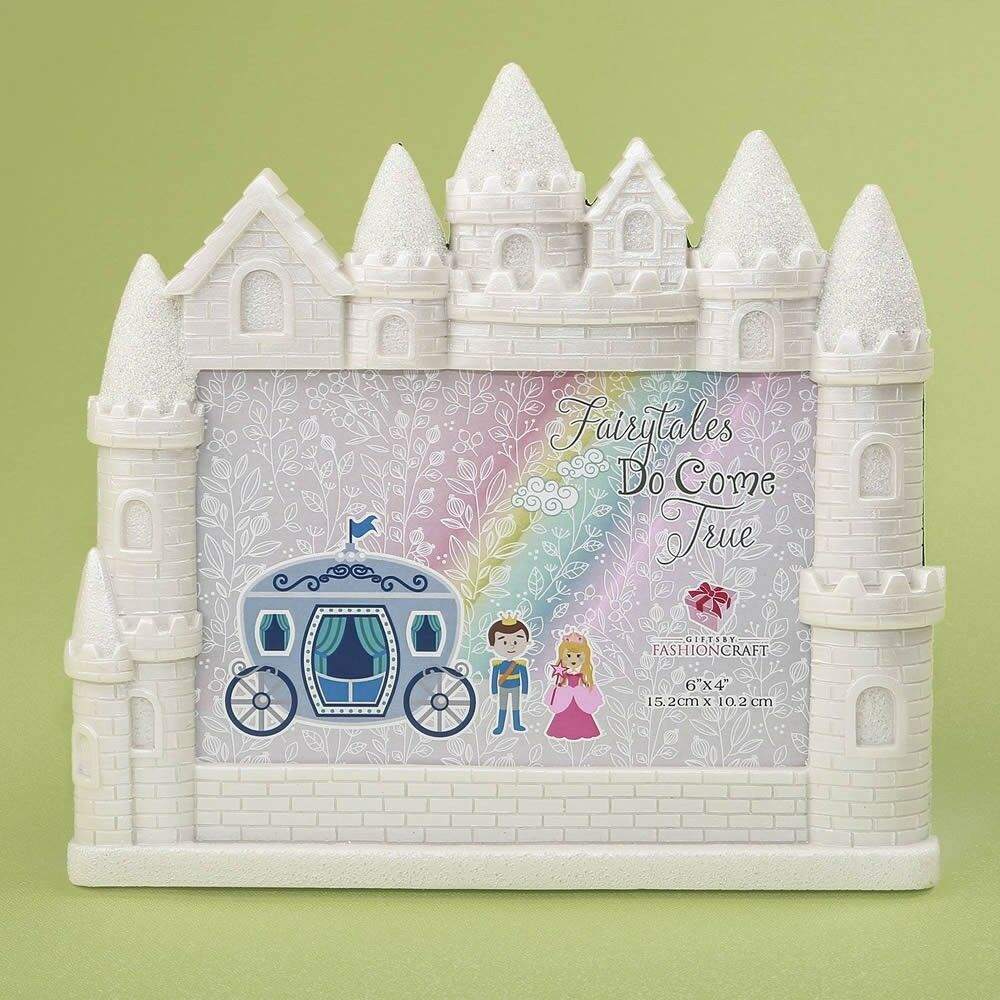 20 Fairytale Castle Photo Frame Princess Baby Girl Shower Birthday Party Favors