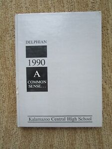 Rare 1990 Derek Jeter Sophomore Year Kalamazoo Central High School Yearbook !!