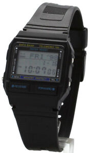 BRAND-NEW-Data-Bank-TELEMEMO-100-TEL-MEMO-Watch-Japan-parts