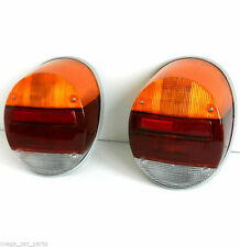 VW VOLKSWAGEN BEETLE[1303][1200] 1973-1979 PAIR REAR TAIL LAMP LIGHT SET LH+RH