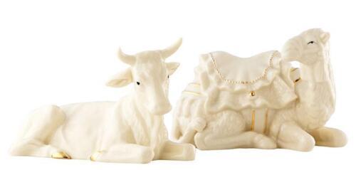 Belleek Manger Ox /& Camel