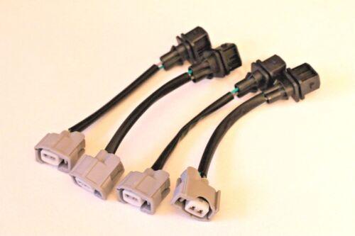 RDX 410cc TO HONDA OBD0 Injector Wiring Harness JUMPER Adapters EG DC 4x