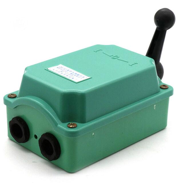 60 A Drum Switch Forward//Off//Reverse Motor Control Rain-Proof Reve RHC