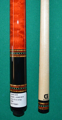 McDermott 2015 June Cue of the Month G229C-G03 w/ free case/ghostball aim traner
