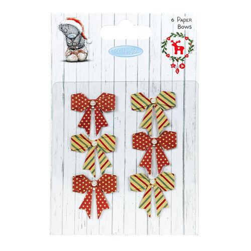 Me to You Navidad Papel arcos para Tarjetas y Manualidades
