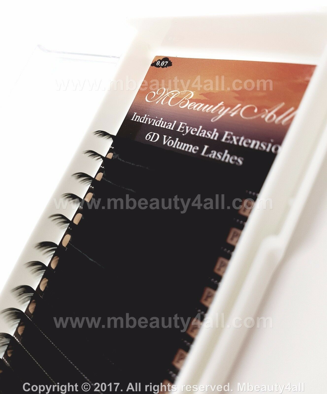771cc829309 Mbeauty4all Russian Volume Lashes 2d-9d Individual Eyelash Extensions 0.05  for sale online   eBay