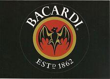 Bacardi Rum Removable Sticker Modern Advertising Rack Postcard
