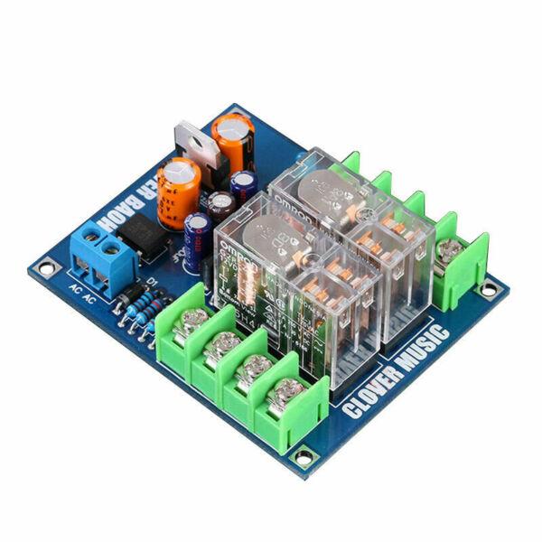 Dual OMRON Relay 7812+UPC1237 Speaker Protection Board Kit for HIFI DIY AC X7B2