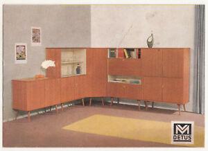 Details zu Prospekt M Detus Möbel 50er Jahre Design Mid Century Vintage  Kayser Münster !(D5