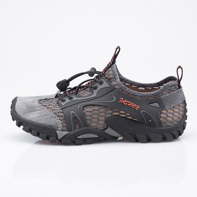Men's Hiking shoes Outdoor Trail Trekking Breathable Travel Sneakers shoes Thbox