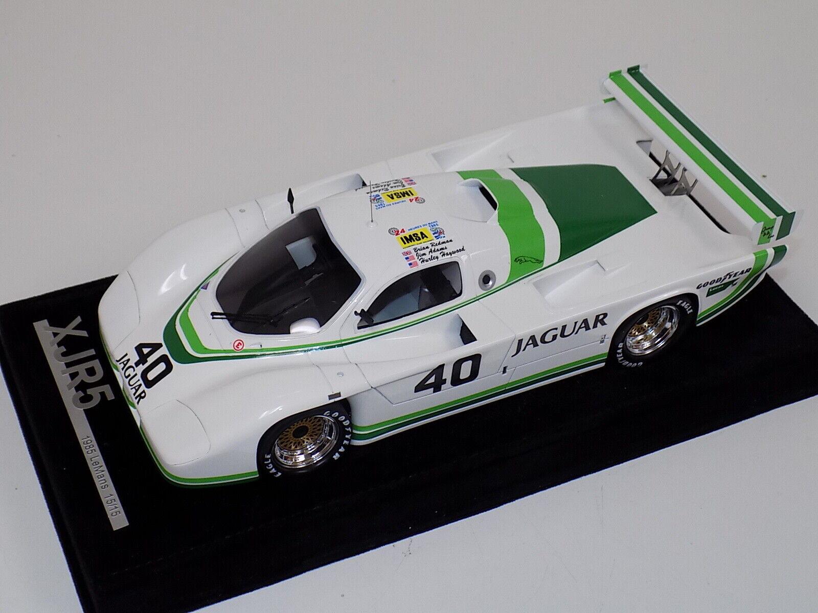 1 18 AB Modèles Jaguar XJR5 de 1985 24 H LeMans Voiture  40 Night Time  15 15