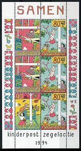 NEDERLAND-1994-KINDERZEGELS-BLOK-NVPH-1627-POSTFRIS-MNH