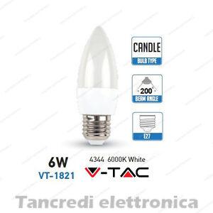Lampadina-led-V-TAC-6W-40W-E27-bianco-freddo-6000K-VT-1821-a-candela-SMD-VTAC