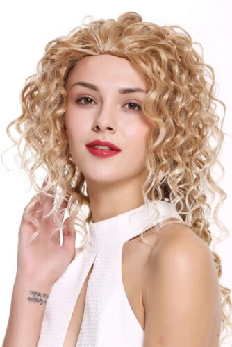 Wig Me Up Women's Wig 34 Half Wig Long Curly Curly Blonde Mix 55c