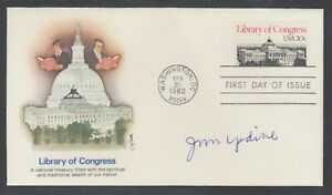 John-Updike-Author-amp-Pulitzer-Prize-Winner-signed-20c-Library-of-Congress-FDC