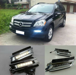 2x-LED-CAR-Specific-daytime-running-lamp-for-BENZ-GL-CLASS-X164-GL450-2006-2009