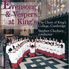 Evensong & Vespers at Kings - Stephen Cleobury 2008 CD
