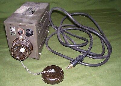 Musical Instruments & Gear Inverter Elkon Type 100/24/220 Other Dj Equipment surplus Military German Mild And Mellow