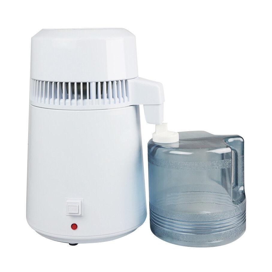 4L Stainless Steel Internal Pure Water Distiller Filter Distilled 50-60Hz CE FDA
