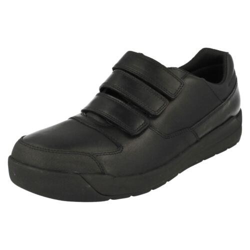 Clarks Rip negro Bl Bootleg senior Tape Chicos cuero Shoes Monte Lite RBUF7qw