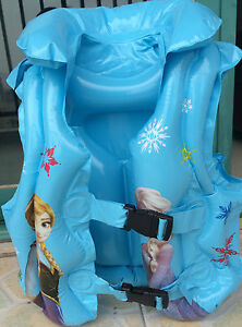 Frozen Inflatable Finding Nemo Kids Life Jacket Childrens Swimming Pool Vest Ebay