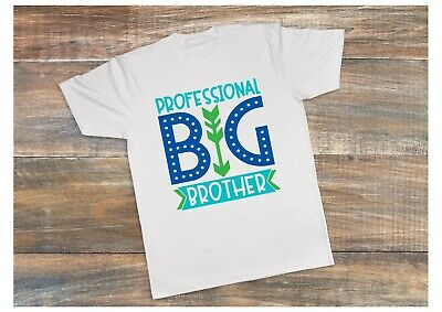 CHILDRENS PERSONALISED T SHIRT* ANY AGE* PROFESSIONAL  BIG BROTHER