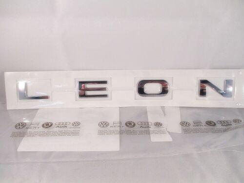 1P0853687 739 Letras SEAT León 1P Portón Trasero 5F