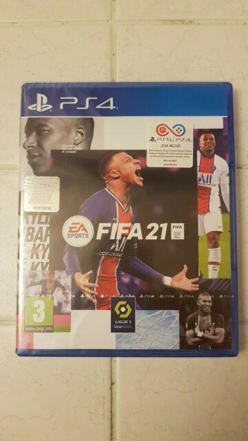 JEU FIFA 21 PS4 VERSION PS5 INCLUSES NEUF ET SOUS BLISTER
