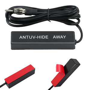 NEW-Electronic-Car-Stereo-Aerial-AM-FM-Radio-Hide-Amplified-Antenna-AU
