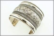 Bracelet pour Femme métal argenté Bijou Ethnique Indien Argent Bijoux AIBMB 02