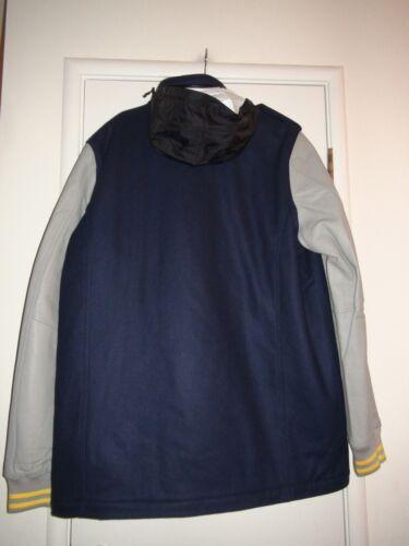 de para 512824 cuero M hombre 888507846426 65 Varsity lana 451 Destroyer 2xlt Nike y chaqueta gris azul Tgxw0H