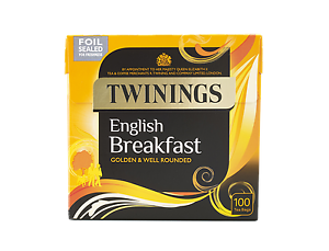 Intelligent Twinings English Breakfast 100 Intercalaires-vendu Par Périphérique Centre-afficher Le Titre D'origine