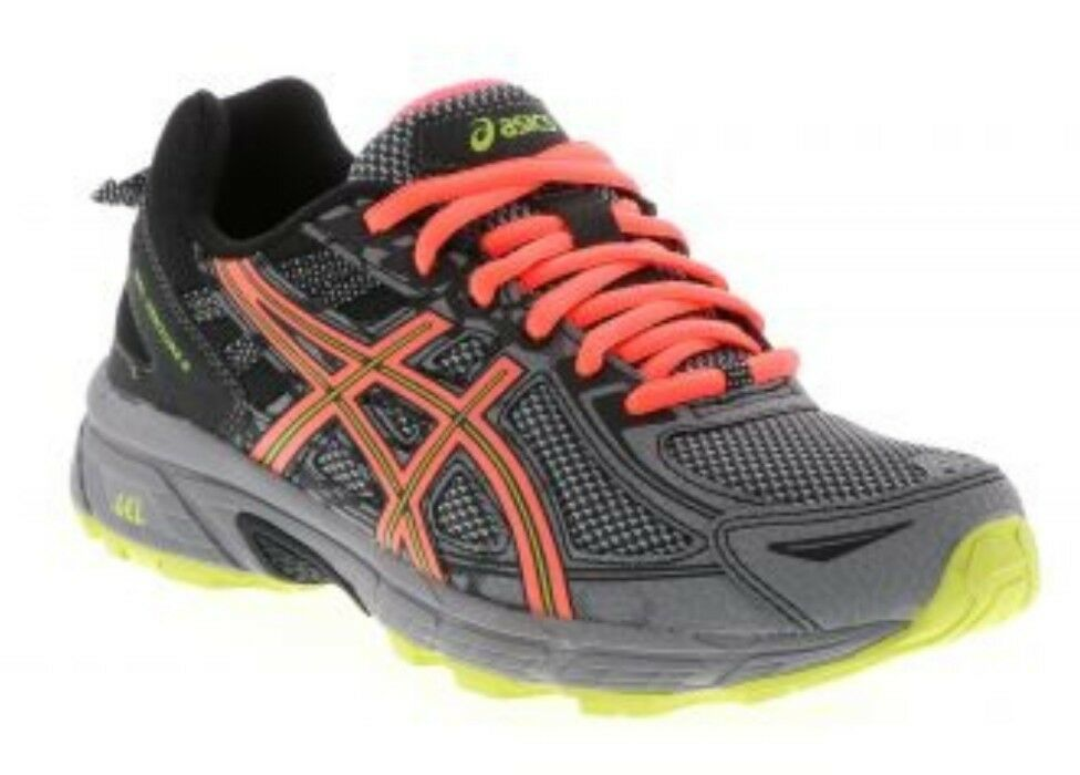 NEW Women's Price reduction ASICS Gel-Venture 6 T7G6Q/1606 PHANTOM/CORAL/LIME New shoes for men and women, limited time discount