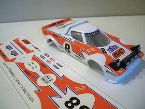 Decals / Calcas al agua escala 1/32 Lancia Stratos HF , Rally Acropolis  1978