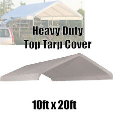 10x20 Replacement Cover Costco Carport Roof Top Canvas Canopy Car Port For Sale Online Ebay