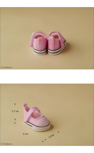 Pink 1//6 BJD YOSD USD  Dear Doll Size Dollmore Sooni Sneakers