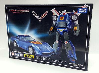 EXCLUSIVE COIN TAKARA Transformers Masterpiece MP-25 TRACKS Chevrolet figure