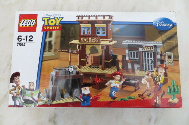 Lego New Sealed  7594 Woody's Roundup  Toy Story