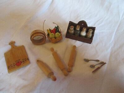 Liberal Puppenhaus Puppenmöbel Aus Den 60er Jahren - Küchenutensilien Online Rabatt