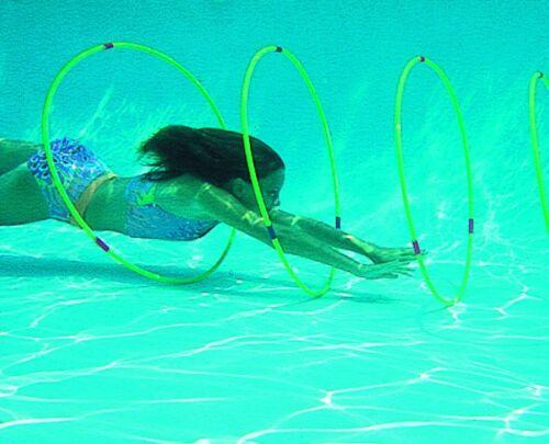 Swimline Underwater Slalom Hoops Swim Course LEARN TO SWIM Diving Australia 8055
