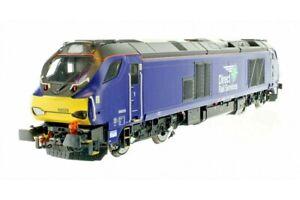 Dapol 4D-022-015, 00 gauge,  Class 68 Bo-Bo Diesel Loco 68026  DRS Plain blue