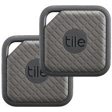Tile Sport Key and Phone Finder Tracker  2 Pack - Graphite New UK EC-09002