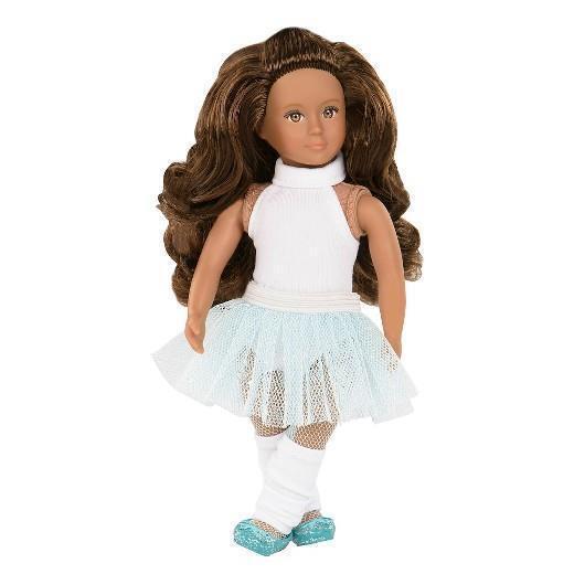 """New Battat 6/"""" Lori Our Generation Aurie Flight Attendant Stewardess Doll"""