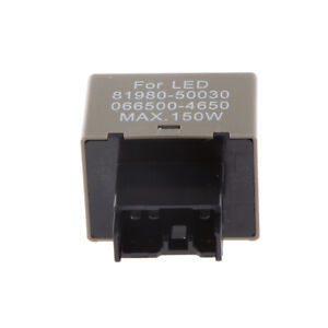 8-Pin-LED-Flasher-rele-senal-de-Vuelta-Luces-Flash-correccion-para-Toyota-Lexus