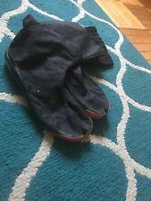 Ninja High Top Tabi Boots Shoes Footwear Black Ninjutsu Bujinkan Genbukan