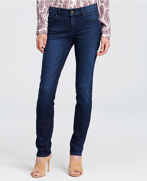 Ann Taylor - Woman's bluee Canal Wash Modern Skinny Jeans  (41)
